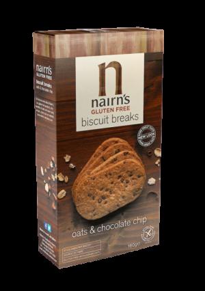 Nairns GF Choc Chip Biscuits